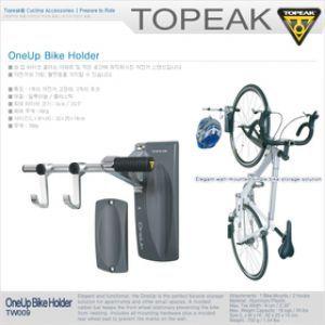 [DCGlobal] TOPEAK 스텐드 ONE UP/자전거 벽걸이 스텐드/MTB 거치대 전시대 고정걸이/700g/허용무게16kg/자 - 11번가 모바일