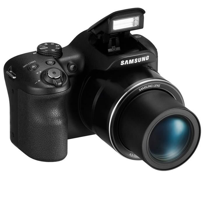 APPAREIL PHOTO BRIDGE SAMSUNG WB1100F Bridge Noir - CCD 16MP