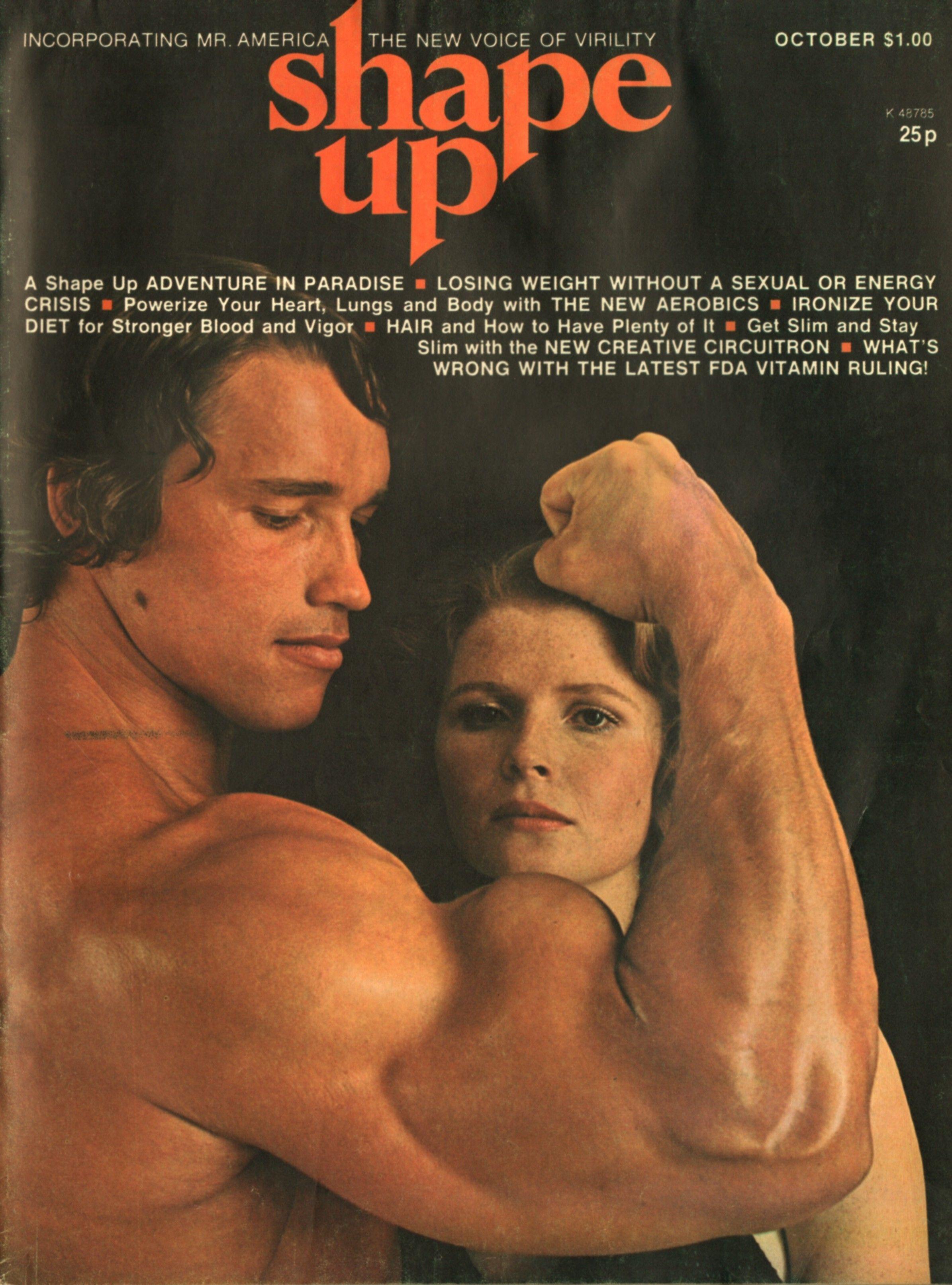 """SHAPE UP MAGAZINE Formerly """"Mr America"""" Magazine October 1974"""