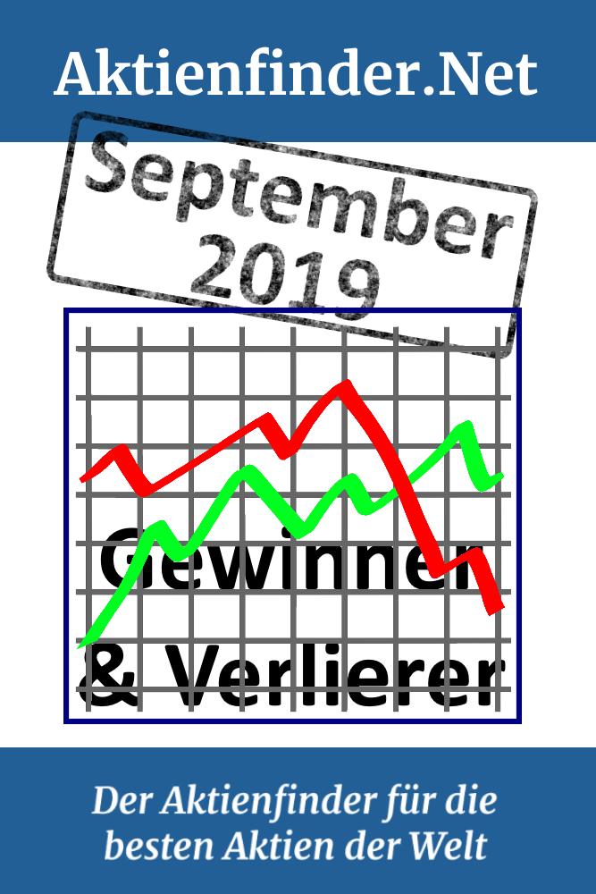 Gewinner Und Verlierer Aktien September 2019 Aktien Gewinner Wolle Kaufen