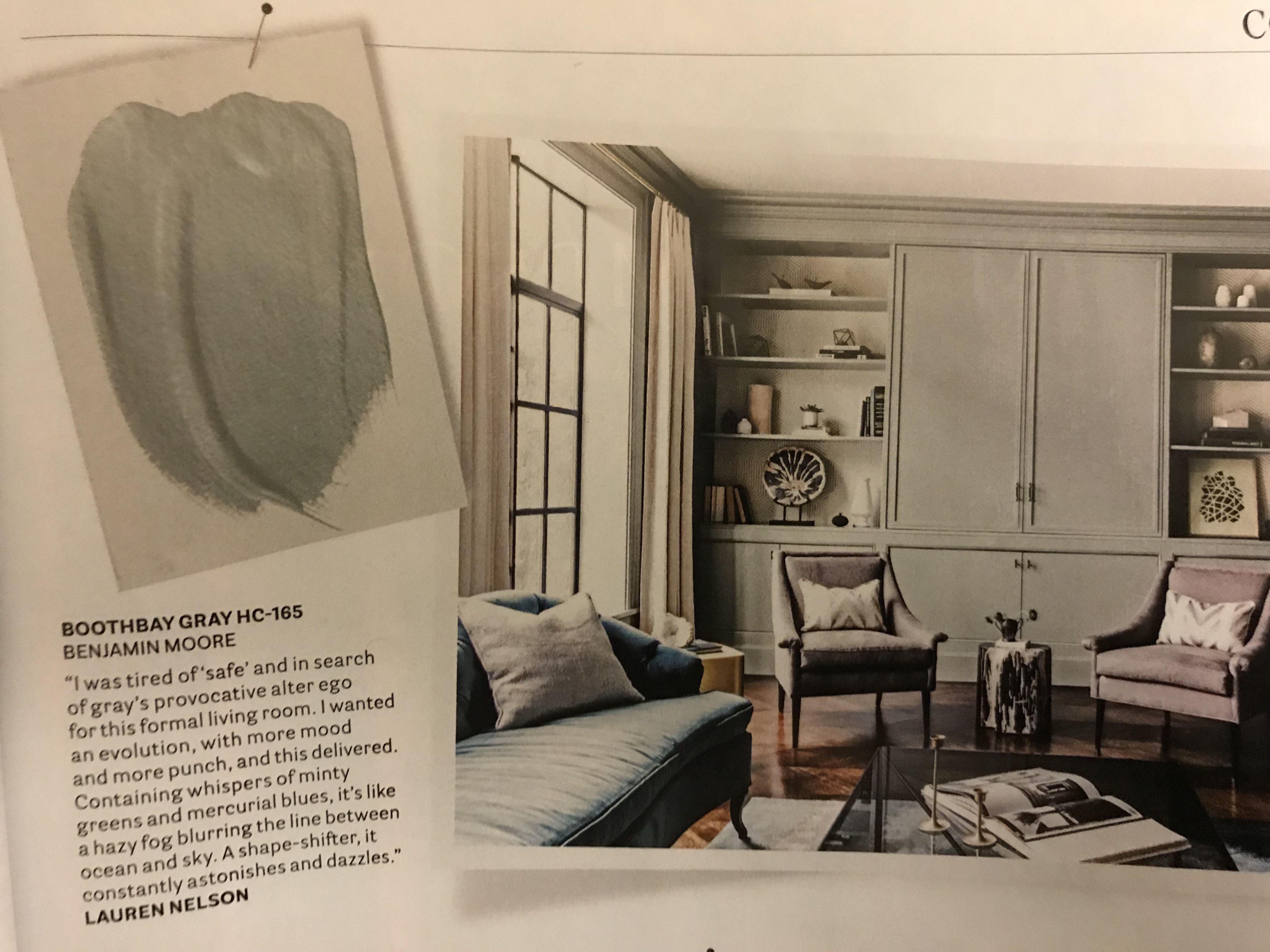 boothbay gray hc165 benjamin moore lauren nelson chameleon gray kitchen cabinet inspiration house beautiful november color inspiration