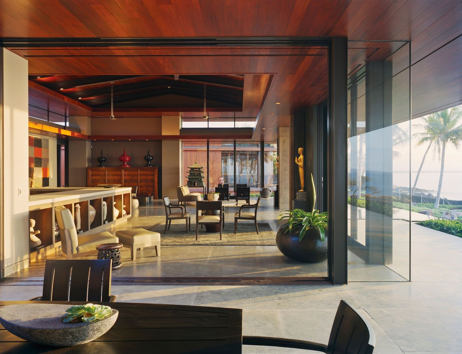... Ocean House in Hawaii by Olson Kundig Architects  HomeDSGN, a daily  source for inspiration and fresh ideas on interior design and home  decoration.