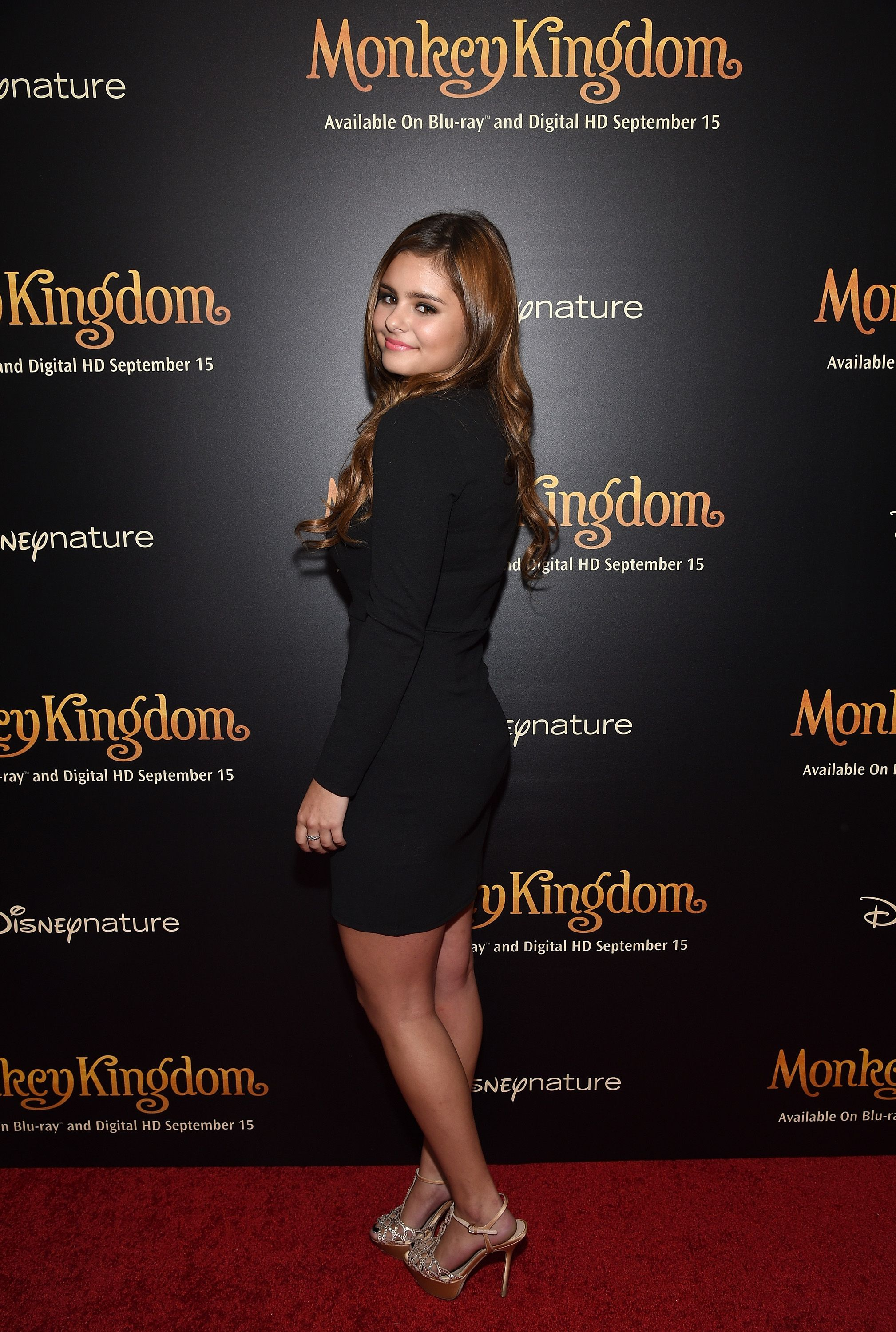 Jacquie Lee attends Disneynature's Monkey Kingdom special screening celebrating the film's September15th Blu-ray / Digital HD release on September 2, 2015 in New York City.