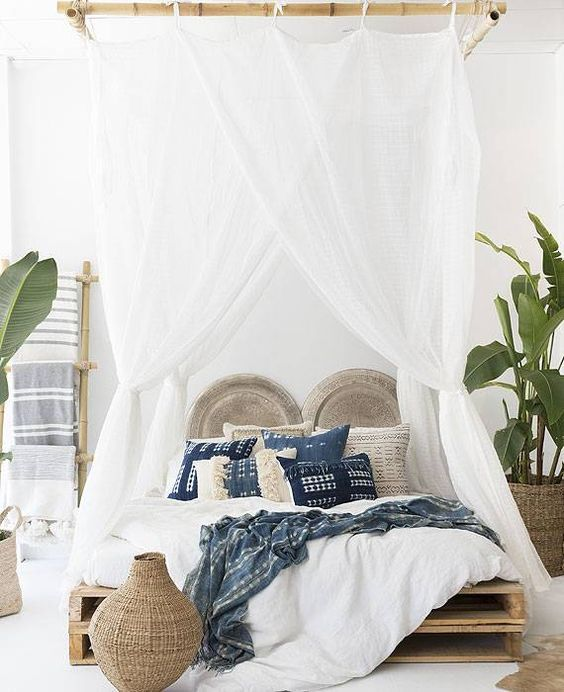 How A Four Poster Bed Can Change A Room | Safari Chic, Canopy And Bedrooms