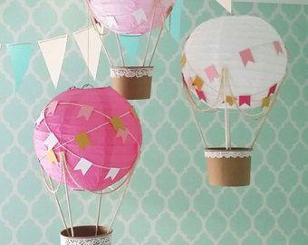 Heissluftballon Dekoration Up Und Away Baby Dusche Heissluftballon
