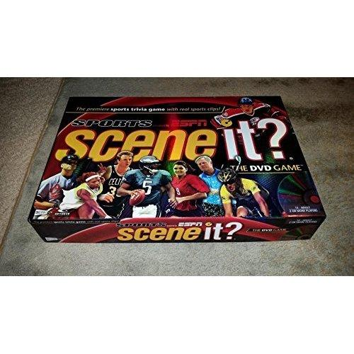 Scene It Sports Dvd Game Powered By Espn Espn Sports Trivia Games Dvd