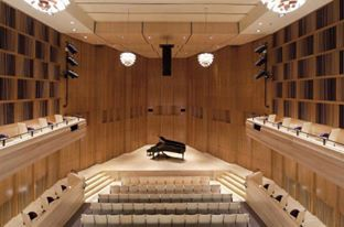Recital Hall Eastmans School Of Music Rochester NY USA