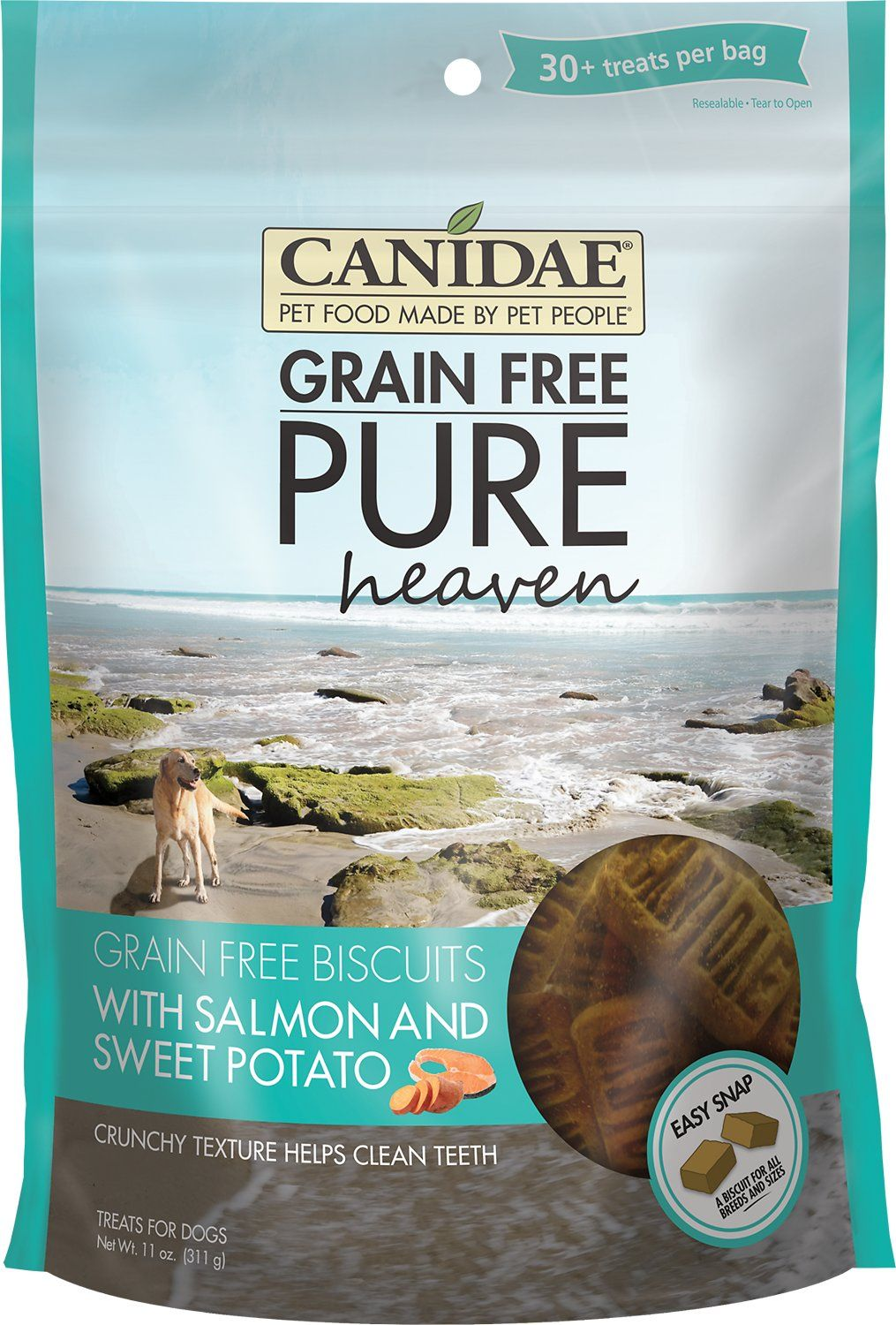 CANIDAE GrainFree PURE Heaven Biscuits with Salmon