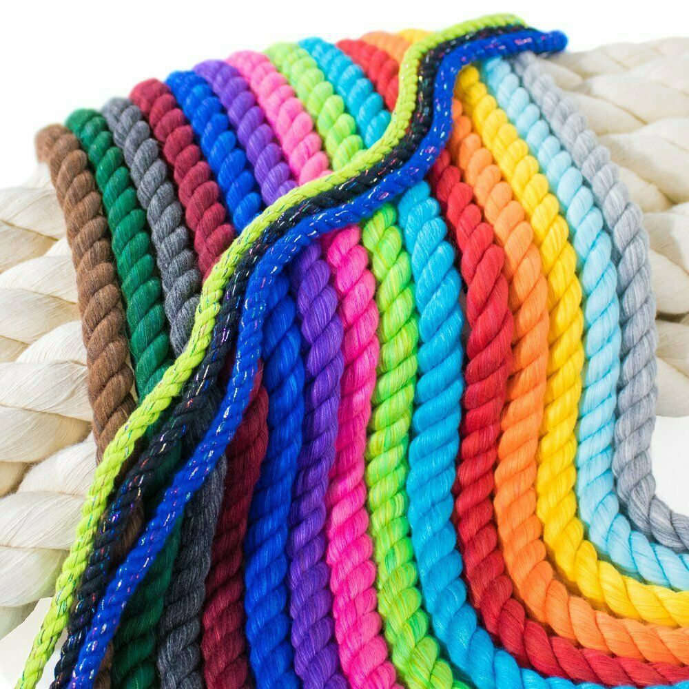 Details About Paracord Planet Twisted 3 Strand Natural Cotton Rope Artisan Cord 1 4 1 2 With Images Paracord Planet Cotton Rope Natural Cotton
