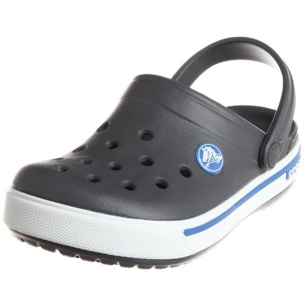 97d471ea9e2eb Crocs Boys Crocband II.5 Perforated Slip On Clogs | Products | Crocs ...