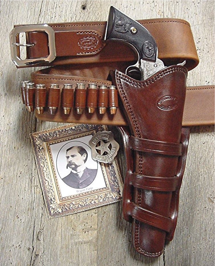 Historical Holsters | Old West Leather, Buckles, Cowboy