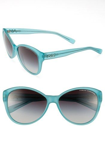 9fe7ee41ea38 AX Armani Exchange 59mm Cat s Eye Sunglasses available at  Nordstrom ...