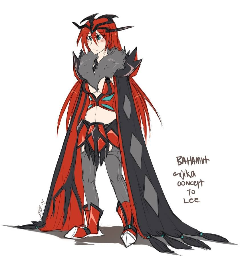Bahamut the Yveltal by Winged-Leafeon on DeviantArt | weapon/a ...