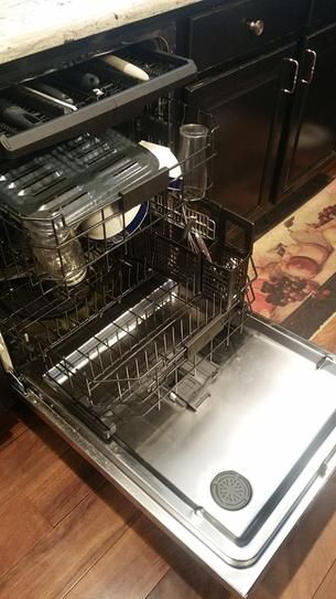 Ge Adora 24 In Stainless Steel Top Control Dishwasher 120 Volt With Stainless Steel Tub 3rd Rack And 48 Dba Ddt595ssjss The Home Depot Top Control Dishwasher Steel Tub Built In Dishwasher