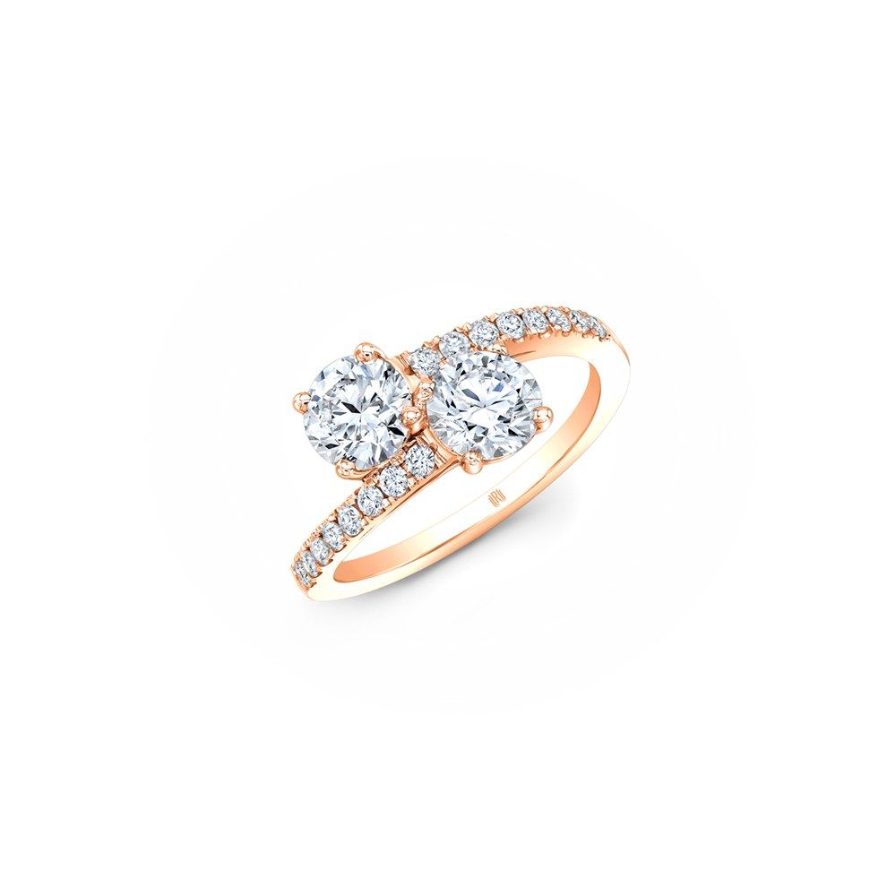 17 Beautiful Two Stone Engagement Rings