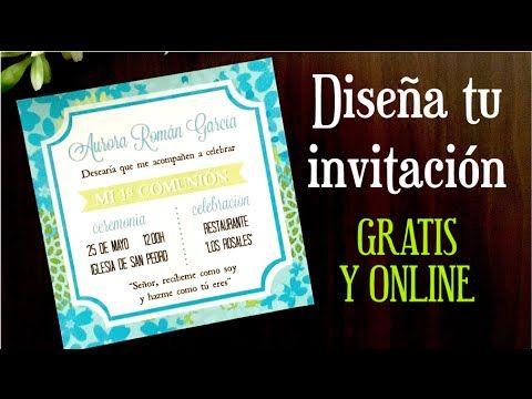 Como Hacer Una Invitacion Online Gratis Como Hacer Invitaciones Hacer Invitaciones De Cumpleaños Crear Invitaciones De Cumpleaños