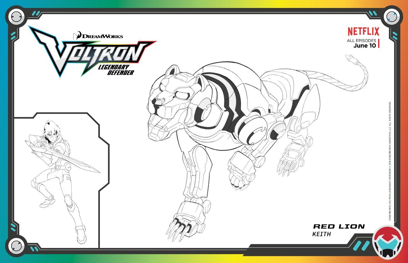 10 Coloring Page Voltron Coloring Pages Cartoon Coloring Pages Voltron