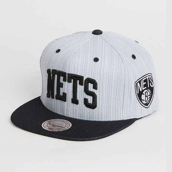 미첼엔네스 [Mitchell&Ness] NBA Denim Arch Snap Nets  NBA팀 브루클린 네츠 로고 스냅백