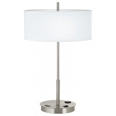 Table Lamp With Usb Porttable Lamp With Usb Outlet On Base