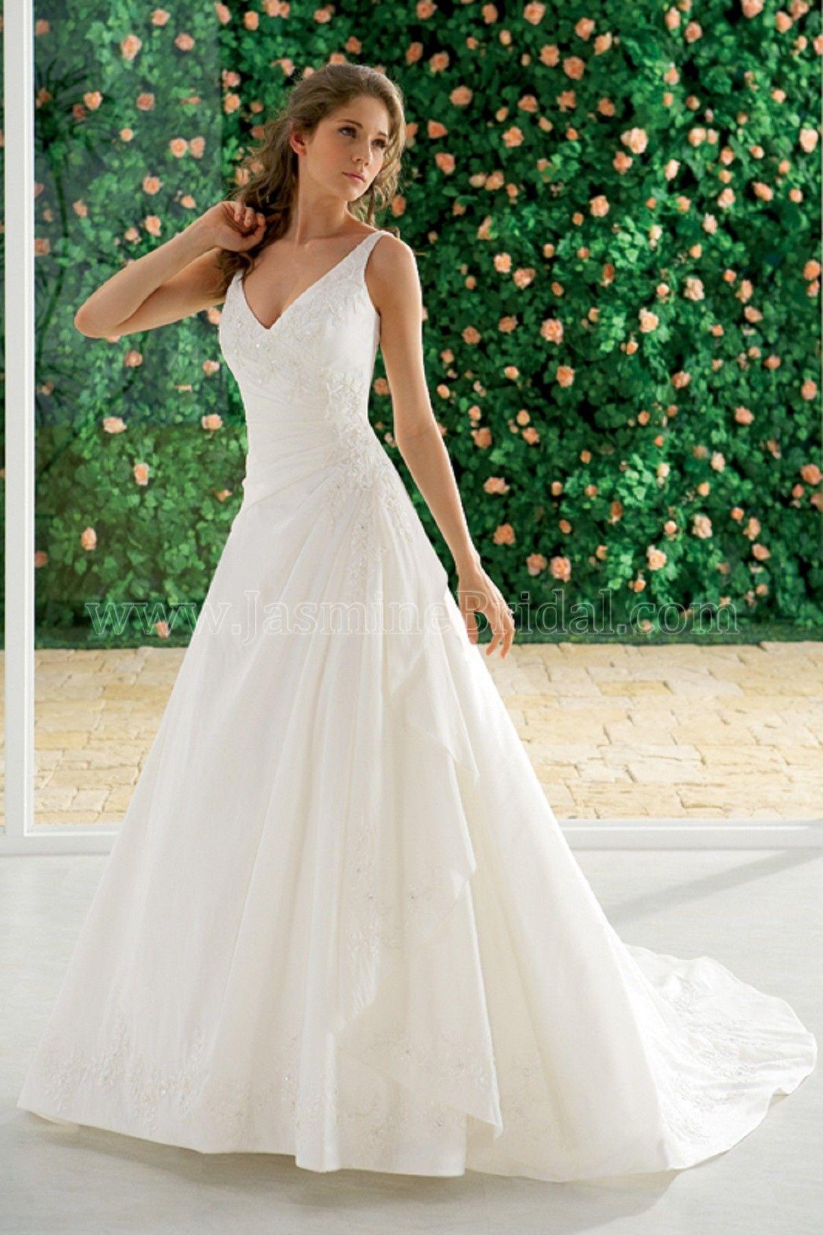 2a120517c988 Jasmine Bridal F912 De La Rosas | Bride Style in 2019 | Wedding ...