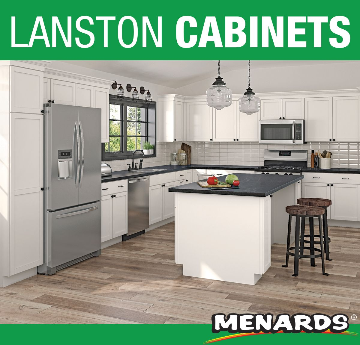 Furnish Your Home With The Quality Of Cardell Concepts Cabinetry This Lanston White Finish Kitchen Cabinet W Finish Kitchen Cabinets Cardell Cabinets Kitchen