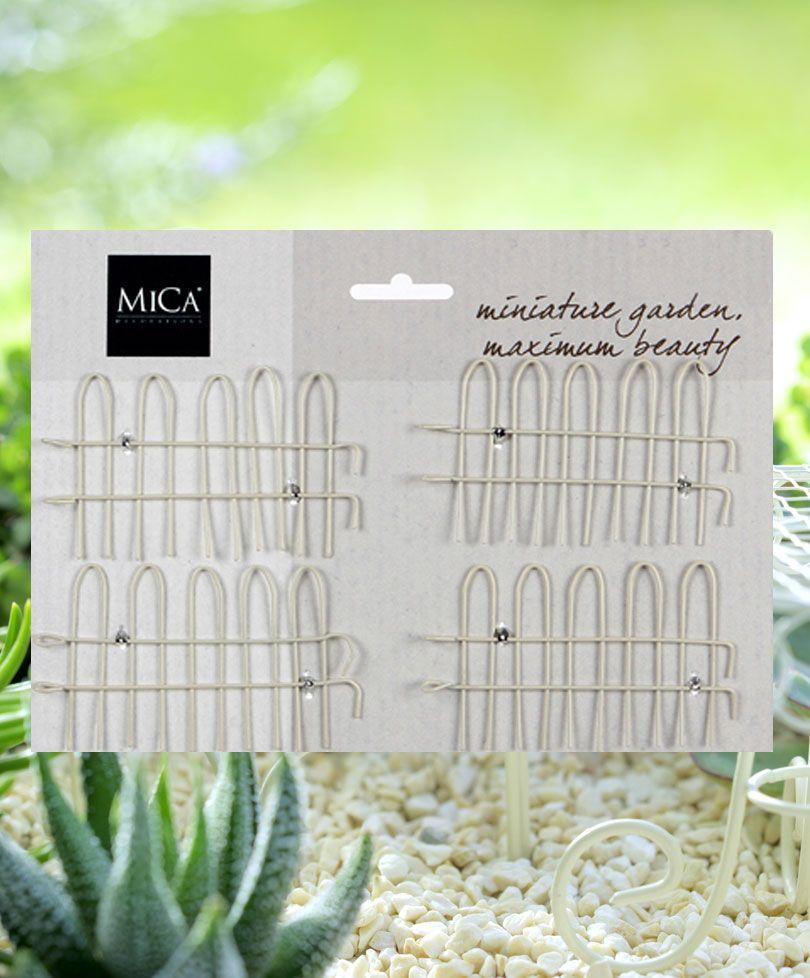 Mini-trädgård staket - benvitt | Speciella teman | Bakker Holland ...