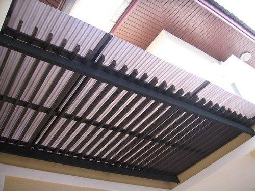 ไอเดียงานติดตั้งกันสาดโปร่งแสง MINI PROLITE Translucent roofing Idea