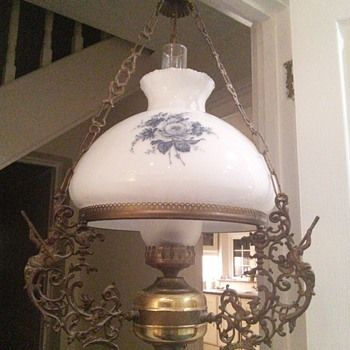 Show tell antique and vintage hanging lamps collectors weekly