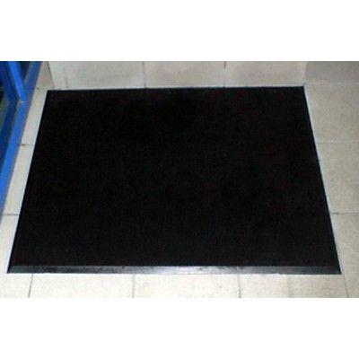 Mats Inc Brush Clean Fingertip Outdoor Doormat Rubber