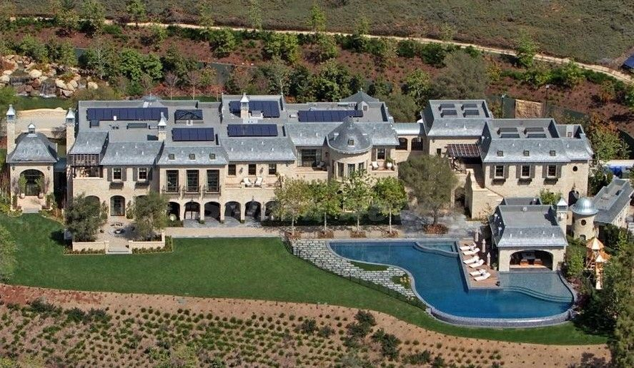 Tom Brady Gisele S Mega Mansion Completed An Aerial Look