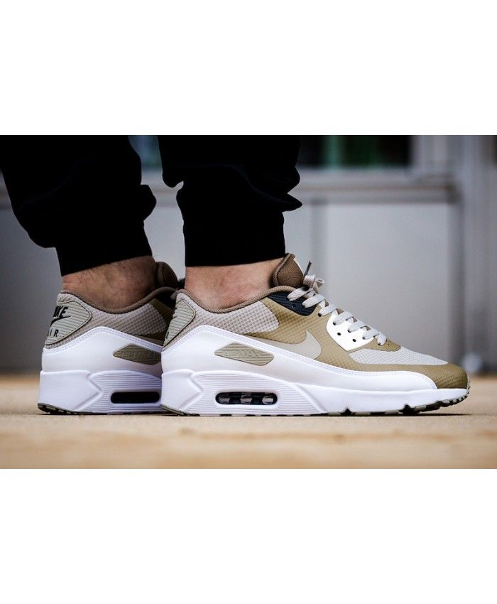 bdea5754b6a5 Nike Air Max 90 Ultra 2 0 Essential Pale Grey Shoe Put on a very good  sports and leisure experience