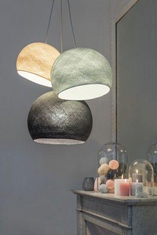 luminaires coupoles la case de cousin paul luminaires pinterest salons lights and. Black Bedroom Furniture Sets. Home Design Ideas
