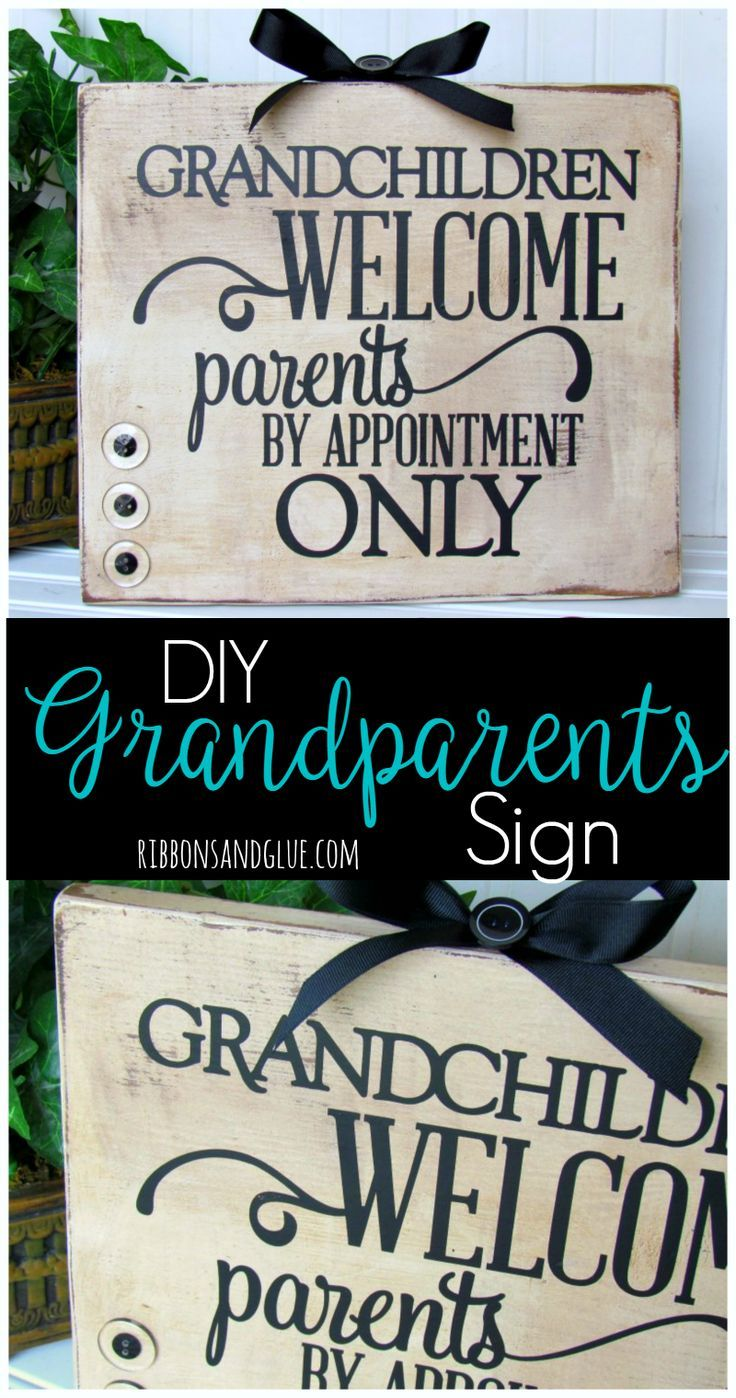 Grandchildren Welcome Sign Ogt Blogger Friends Diy