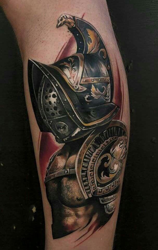 Faithfully Tattooed | Gladiator tattoo, Armor tattoo ...