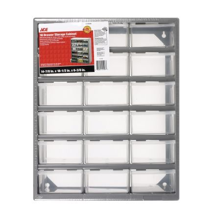 Ace® 18 Drawer Parts Storage Box - Ace Hardware | For the