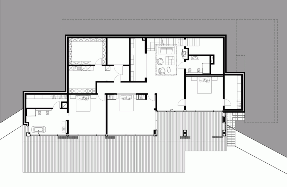 Gallery Of Holiday Home At Aluksnes Lake Ab3d Ltd 3 Holiday Home House Floor Plans Floor Plans