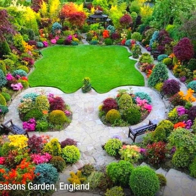 57 Amazing Beautiful Garden Ideas Inspiration And: A Whimsical, Happy Garden....