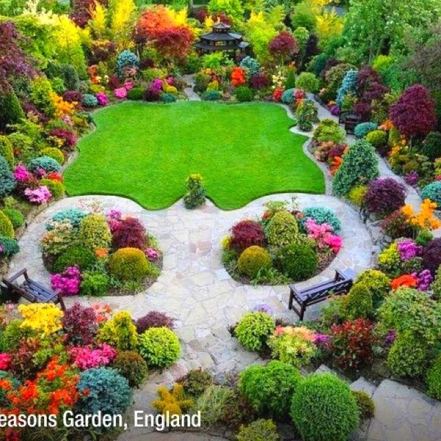 A whimsical, happy garden.... | Create an Outdoor Oasis | Pinterest ...
