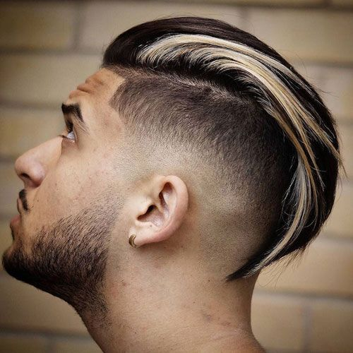 Long Modern Slicked Back Undercut