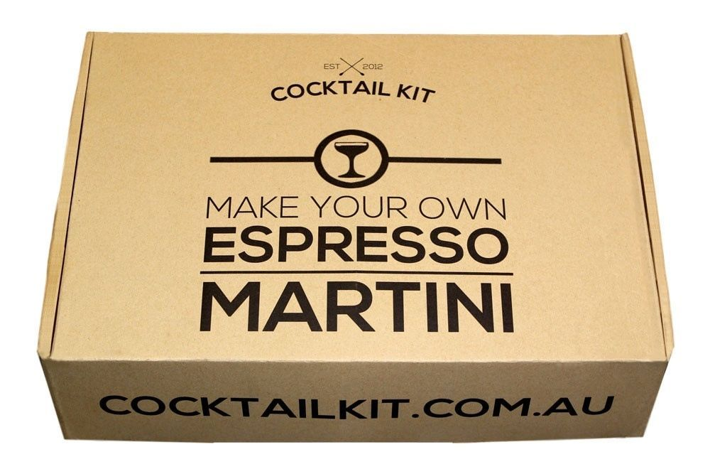 Details about new espresso martini cocktail kit gift bar