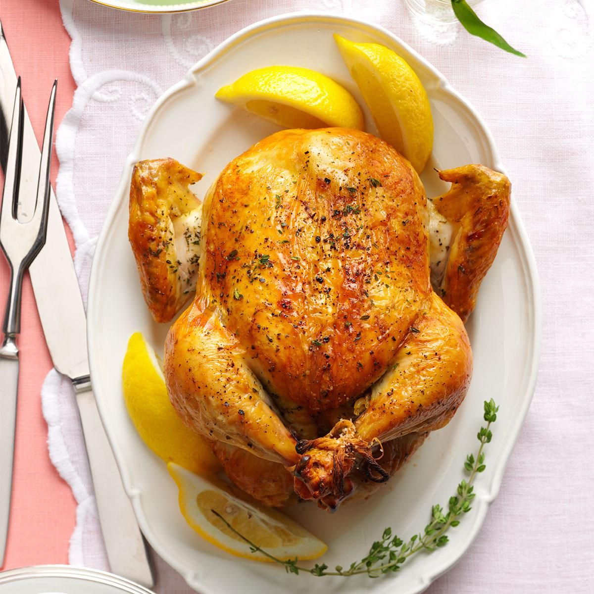 Photo of Lemon & Thyme Roasted Chicken