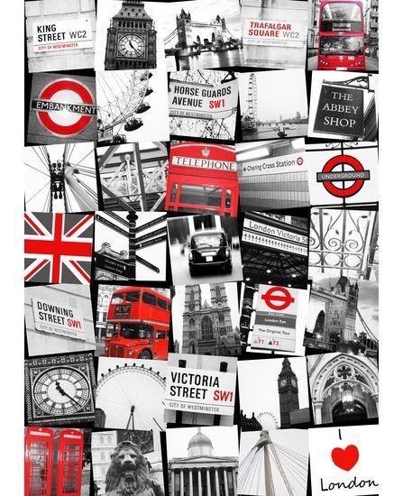 London wallpaper | Decorative Accessories | Pinterest