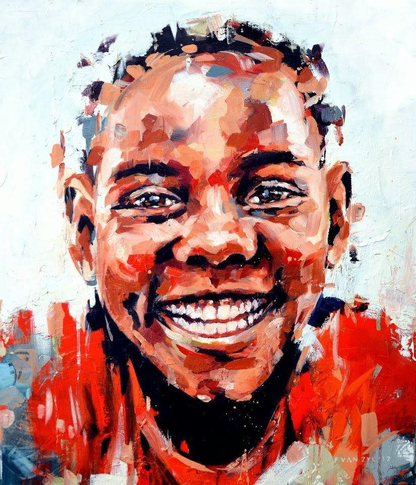 Floris van zyl african portraits art african art
