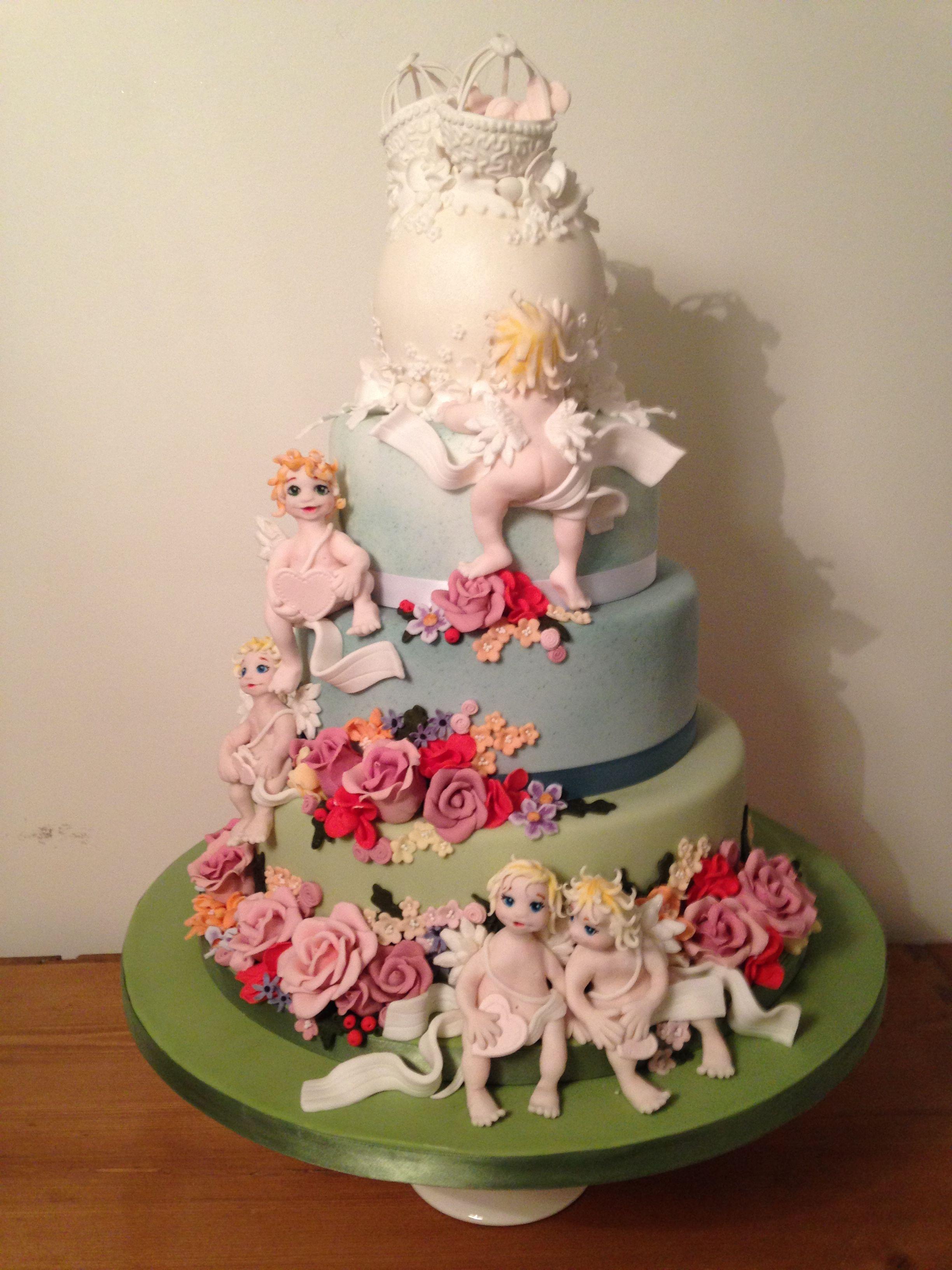 Silver award winning wedding cake uegâteaux ange u démon