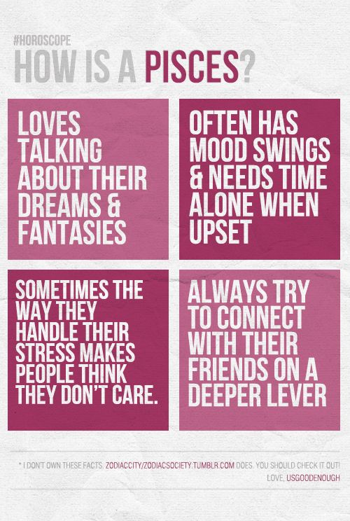 Good to know - Pieces   Quotes   Pisces traits, Pisces facts