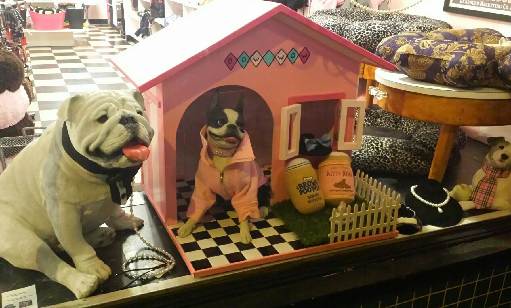 Just Delivered Last Night For Our Front Window Custom Dog Houses