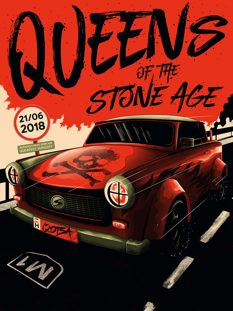 0b9880ffed2d3d477cad441a683fb34b - Queens Of The Stone Age Budweiser Gardens