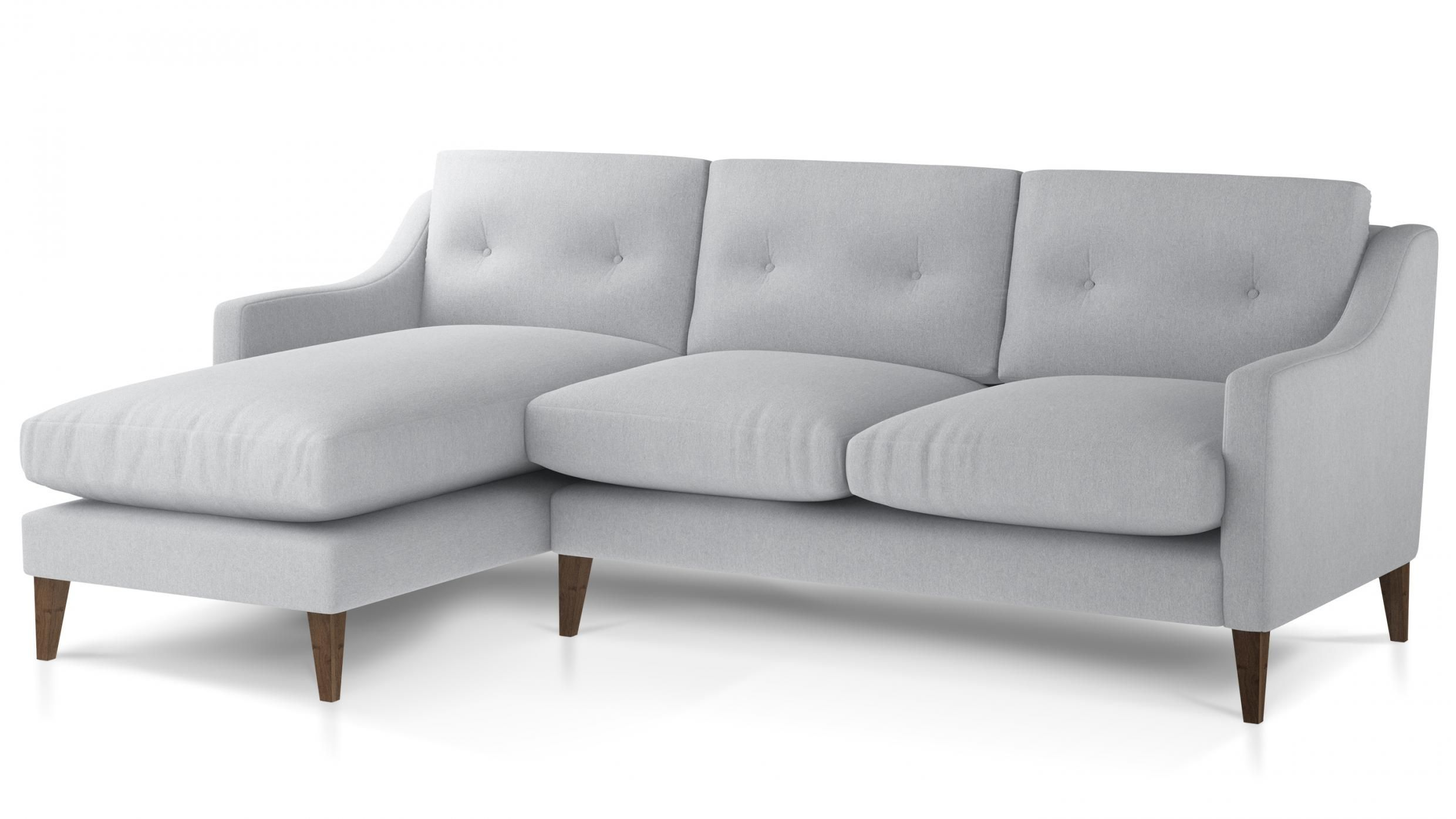 Our Ferdinand Corner Sofa Is A Modern Take On A Mid Century Icon This Corner Sofa Has A Square Shape Which Is Softened By The Deep Chaise Sofa Sofa Small Sofa