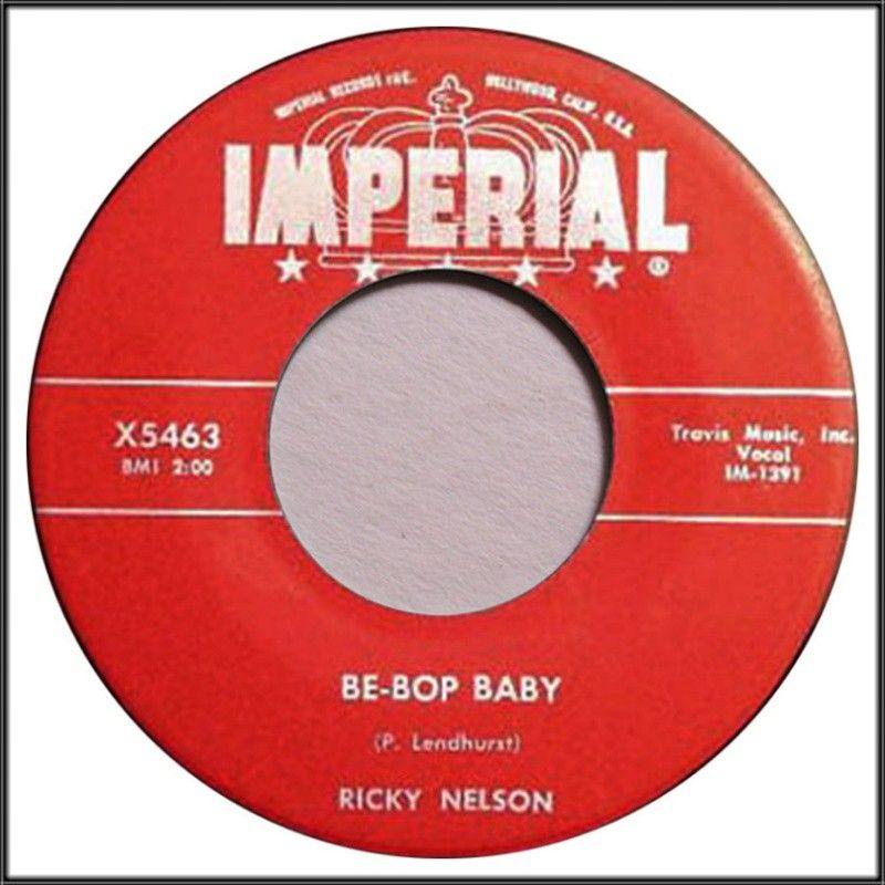 Ricky Nelson: Be-Bop Baby (1959) | Ricky nelson, Music record ...
