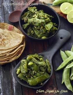 Valor papdi nu shak winter sabzi recipe by tarla dalal valor papdi nu shak winter sabzi recipe by tarla dalal tarladalal 41454 valor papdi sabji pinterest winter recipes and vegetable recipes forumfinder Images